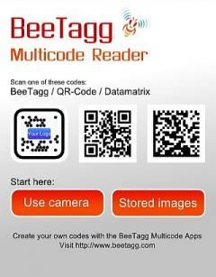 BeeTagg Reader (S60 2nd Edition)