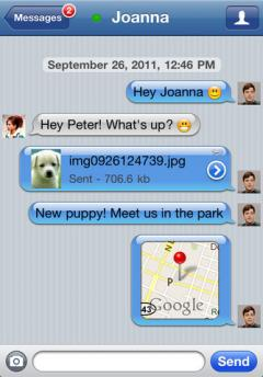BeejiveIM for Facebook Chat (iPhone)