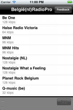 Belgie(nl) Radio Pro for iPhone/iPad