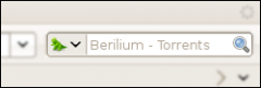 Berilium - Torrents Search - Firefox Addon