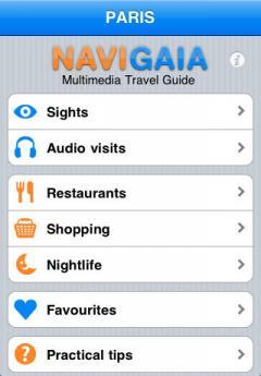 Berlin Multimedia Travel Guide in French
