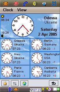 Best Clock for UIQ