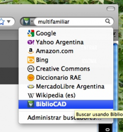 BiblioCAD - Firefox Addon