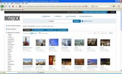 Bigstockphoto search - Firefox Addon