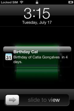 Birthday Calendar 2012 Pro