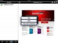 Bitdefender Safebox for iPad