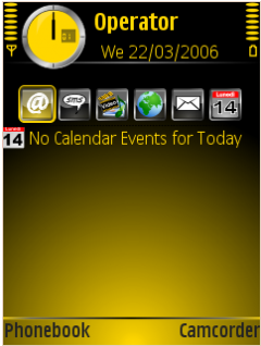 Black&Yellow Theme