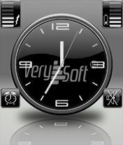 Blacky Style Analog for NiceClock2
