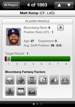 Draft Kit 2012: Front Office Baseball for iPhone