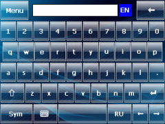 Blue Wave Skin for SPB Keyboard