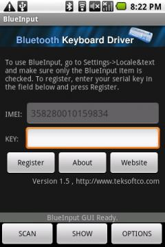 BlueInput (Android)
