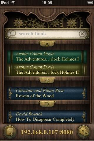 BookReader (iPhone) - Программа для чтения электронных книг