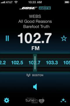 Bose Internet Radio App