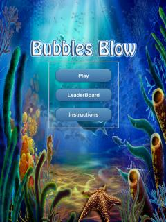 Bubbles Blow (iPad)