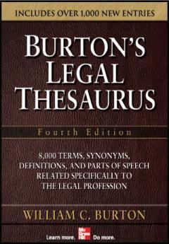Burton's Legal Thesaurus (iPhone/iPad) 3.08