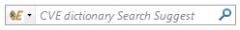 CVE dictionary search plugin - Firefox Addon