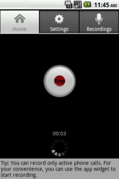 Call Recorder Free (Android)