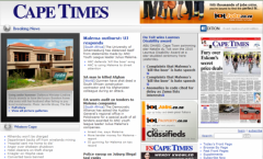Cape Times - Firefox Addon