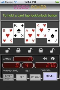 Casino VideoPoker (iPhone)