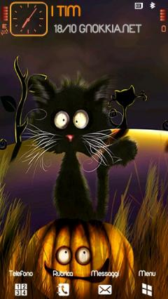 Cat Halloween HD Theme