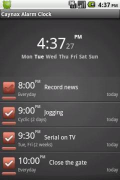 Caynax Alarm Clock
