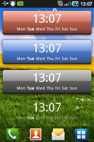 update lag time value on widget didn t update when user changed phone