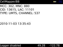 CellMapper (BlackBerry)