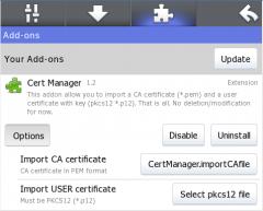 Cert Manager - Firefox Addon