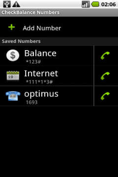 CheckBalance (Android)