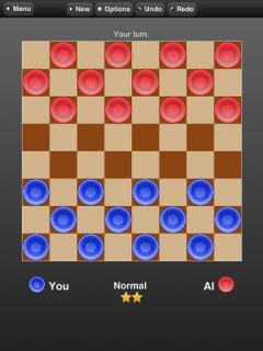 Checkers Online (iPad)