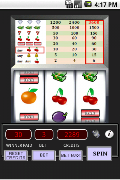 Cherry Slot Machine (Android)