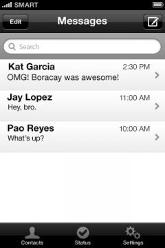 Chikka Text Messenger for iPhone