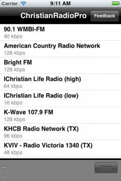 Christian Radio Pro for iPhone/iPad