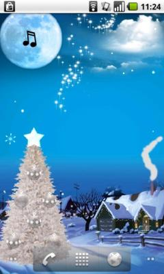 Christmas Live Wallpaper Free (Android)