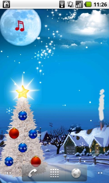 pics photos christmas live wallpaper free android apps
