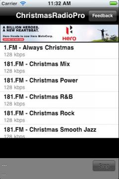 Christmas Radio Pro for iPhone/iPad