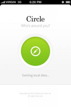 Circle for iPhone