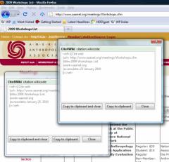 Cite4Wiki - Firefox Addon