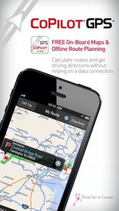 CoPilot GPS for iPhone/iPad