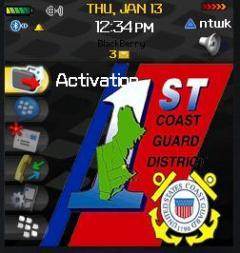 CoastGuard 2 Zen Theme for Blackberry 8100 Pearl