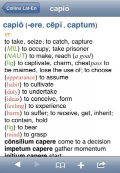 Collins Latin Dictionary (iPhone/iPad)