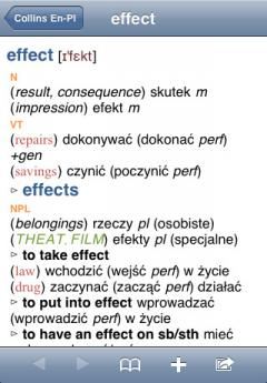 Collins Polish Dictionary (iPhone/iPad)