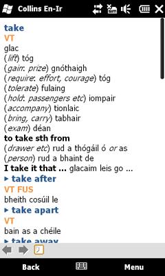 collins dictionary spanish english