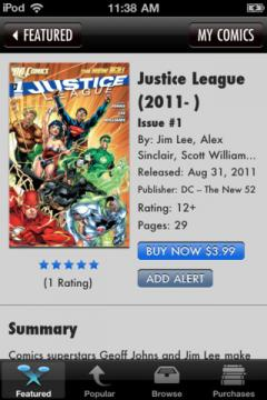 Comics for iPhone/iPad