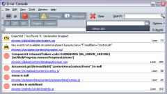 Console - Firefox Addon