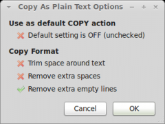 Copy As Plain Text - Firefox Addon