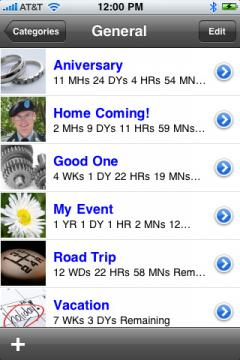 Countdown (iPhone/iPad)