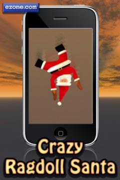 Crazy Ragdoll Santa