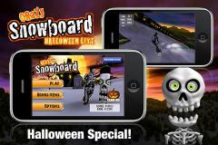 Crazy Snowboard - Halloween Lite