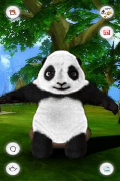 Crouching Panda
